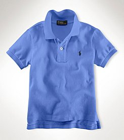 Polo Ralph Lauren® Boys' 2T-20 Short Sleeve Classic Mesh Polo