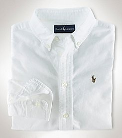 Ralph Lauren Boys' 8-20 Long Sleeve Oxford Shirt