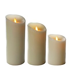 Luminara® Flameless Ivory Candle with Timer