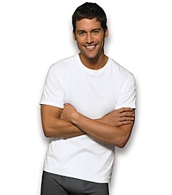 Hanes® Men's White 6-Pack Crewneck T-Shirts