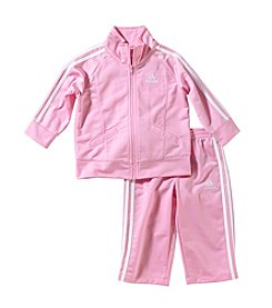adidas® Baby Girls' 2-pc. Tricot Athletic Outfit Set