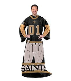New Orleans Saints Full Body Player Comfy Throw