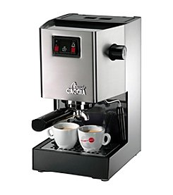 Gaggia Classic Stainless Steel Espresso Machine
