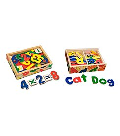 Melissa & Doug® Magnetic Letters and Numbers Bundle