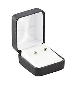 Designs by FMC .25 ct. t.w. Black Diamond Stud Earrings in Sterling Silver