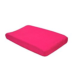 Trend Lab Pink/White Dot Changing Pad Cover