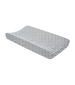 Trend Lab Grey/White Chevron Changing Pad Cover