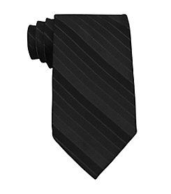 Van Heusen® Men's Solid Tonal Stripe Silk Tie