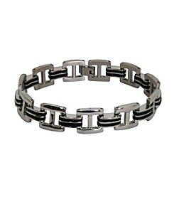 Men's Polished Stainless Steel Bracelet