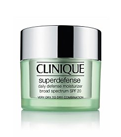 Clinique Superdefense Daily Defense Moisturizer Broad Spectrum SPF 20 Skin Types 1 & 2