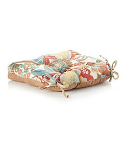 LivingQuarters Molly Floral Chair Pad