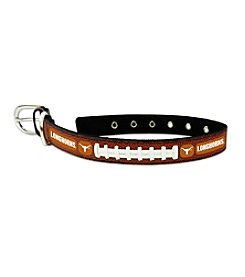 University of Texas Longhorns GameWear™ Classic Leather Pet Collar