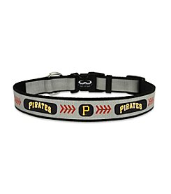 MLB® Pittsburgh Pirates Reflective Baseball Pet Collar