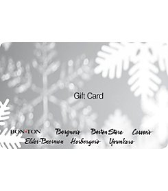 Gift Card - Silver Snowflake