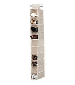 Simplify Beige 10-Shelf Hanging Organizer