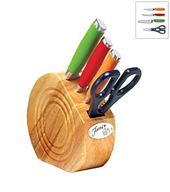Fiesta® 5-pc. Multicolor Prep Set with Natural Block