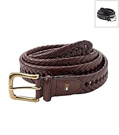 Tommy Hilfiger® Men's Braided Leather Dress Belt