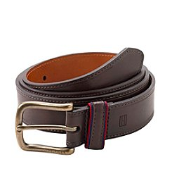 Tommy Hilfiger® Men's Brown Stitch Belt