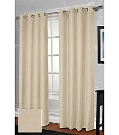 Exclusive Home Shantung Thermal Grommet Panel Set