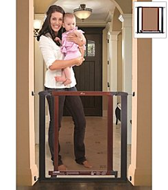 Dreambaby® Charcoal with Cherry Wood Metropolitan Gate