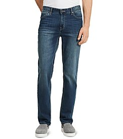 Calvin Klein Jeans® Men's Authentic Blue Straight Fit Denim