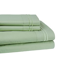 Elite Home Products Double Marrow Hotel Solid Sheet Set
