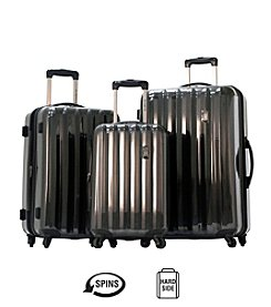Olympia Titan Black Luggage Collection