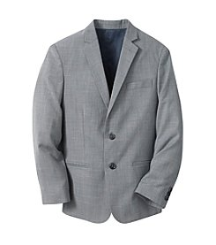 Calvin Klein Boys' 8-20 Grey Sharkskin Jacket