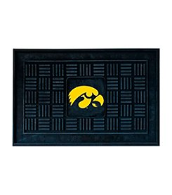 NCAA® University of Iowa Medallion Door Mat