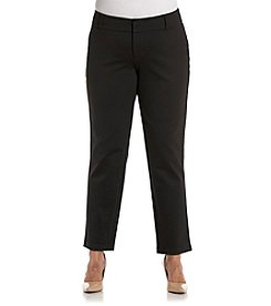 MICHAEL Michael Kors® Plus Size Straight Leg Ankle Pants