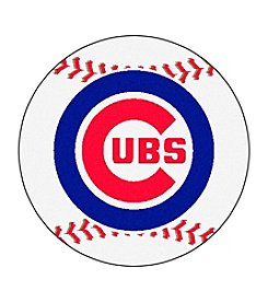 MLB® Chicago Cubs Baseball Round Mat