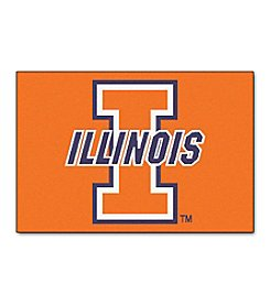 NCAA® University Of Illinois Football Starter Mat