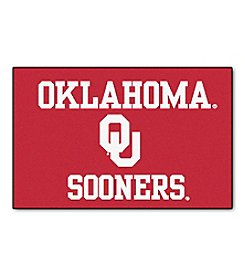 NCAA® University Of Oklahoma Football Starter Mat