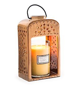 Candle Warmers Etc. Pierced Ceramic Candle Warmer Lantern