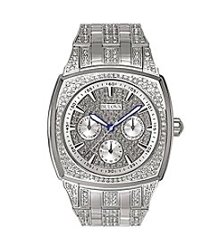 Bulova® Men's Crystal Multi Function Watch