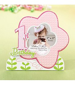 Lillian Rose® 1st Birthday Pink Frame