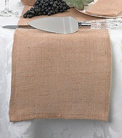 Lillian Rose® Burlap Blank Table Runner