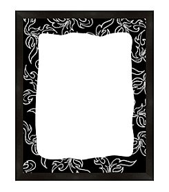 Leaves and Black Framed Graphic Board