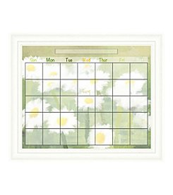 Spring Flowers Memo Framed Graphic Calendar