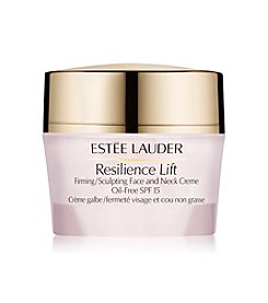 Estee Lauder Resilience Lift Firming Sculpting Face & Neck Crème Oil Free Broad Spectrum SPF 15