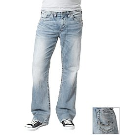 Silver Jeans Co. Men's Indigo 'Grayson' Relaxed-Fit Boot Cut Jean
