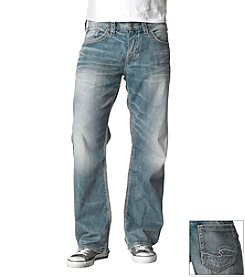 Silver Jeans Co. Men's Light Wash Indigo 'Gordie' Straight-Fit Jean