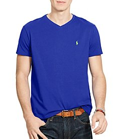 Polo Ralph Lauren® Men's Short Sleeve Jersey V-Neck Tee