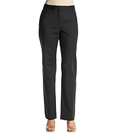 Rafaella® Petites' Curvy Fit Straight Leg Pants
