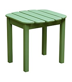 International Concepts Solid Acacia Wood Moss Side Table