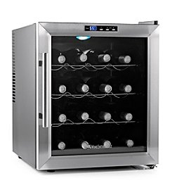 Wine Enthusiast Stainless Steel Silent 16-Bottle Touchscreen Wine Refrigerator