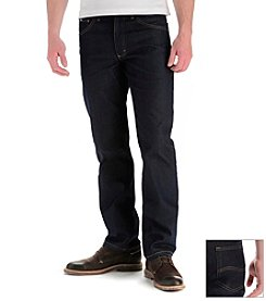 Lee® Men's Indigo Stretch Big & Tall Straight-Fit Jeans