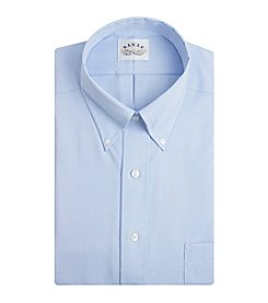 Eagle® Men's Big & Tall Long Sleeve Pinpoint 'No-Iron' Dress Shirt