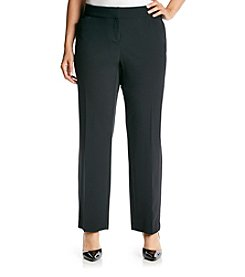 Studio Works® by Briggs Plus Size Curvy Trouser Pants