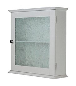 Elegant Home Fashions® Connor Glass One-Door Medicine Cabinet